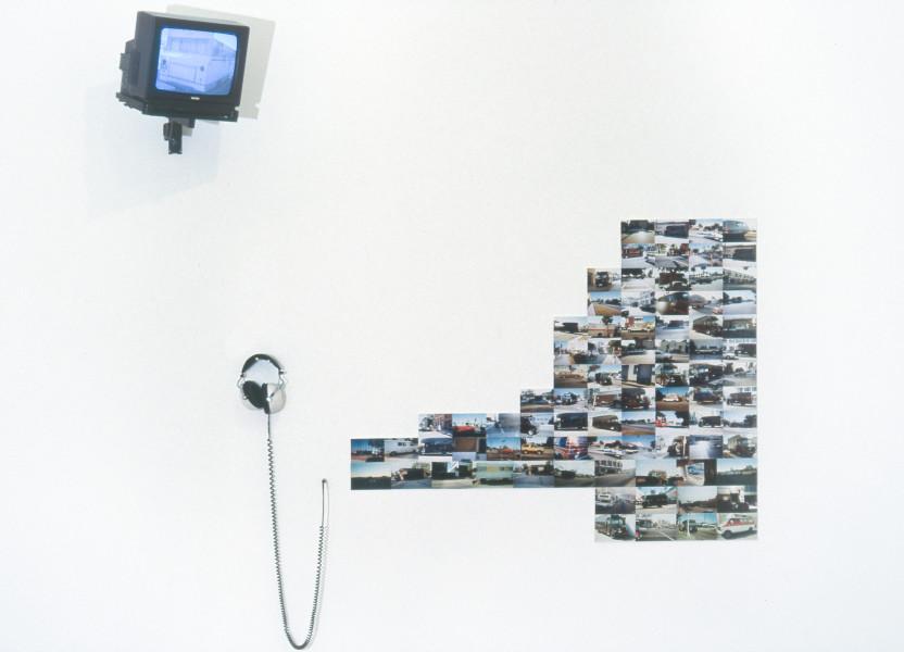 Hany Armanious Tobacco Road, 1993; headphones, colour photographs, video; dimensions variable; enquire