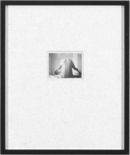 Robert Mapplethorpe Untitled (Headstand), 1974; Polaroid; 8.5 x 11 cm; enquire