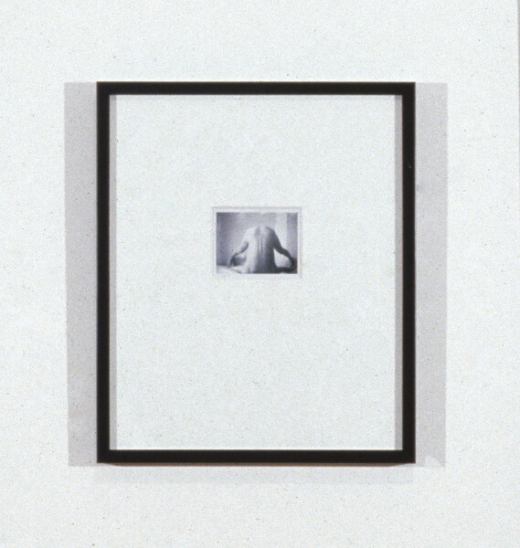 Robert Mapplethorpe Untitled (Headstand), 1974; Polaroid; 8.5 x 11 cm; enquire
