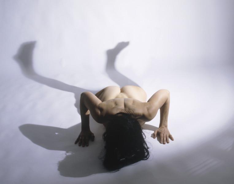 Julie Rrap Split Body, 2004; pure pigment prints on acid-free rag paper; 130 x 165.5 cm; 152 x 176 cm (paper size); Edition of 9; enquire