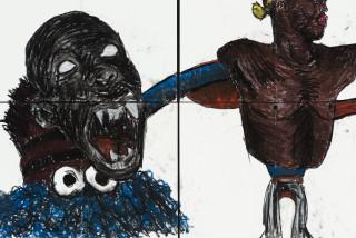 Pierre Mukeba (Cognitive Dissonance) (detail), 2021; charcoal and pastel on archival paper; 120 x 126 cm; enquire