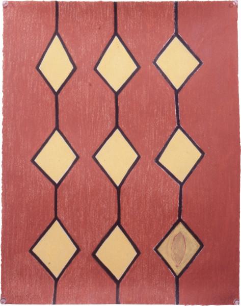 Fiona Foley Islands, 1992; pastel on paper; 56 x 38 cm; enquire