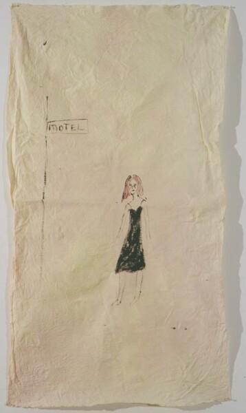 Jenny Watson Motel, 2001; oil on cotton; 155 x 85 cm; enquire