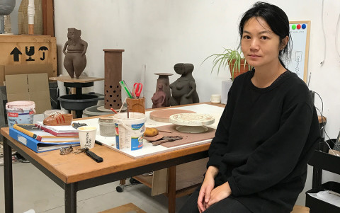 Renee So,  West Dean College of Arts and Conservation's Artist in Residence for 2019