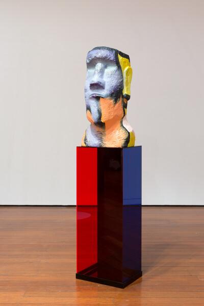 Mikala Dwyer Hardware, 2018; fibreglass, acrylic, paint; 131 x 31 x 30 cm; enquire