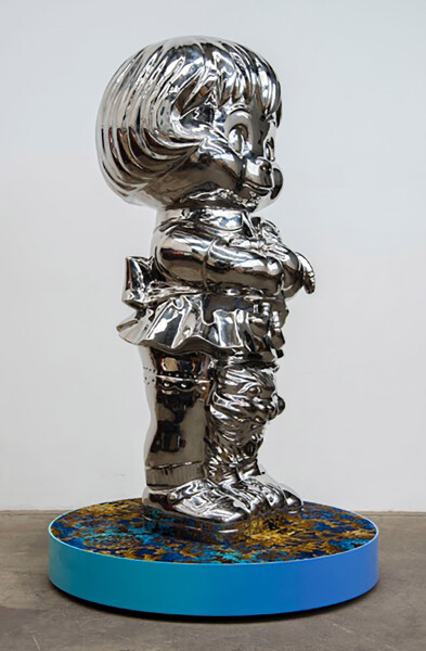 Michael Parekowhai Coral, 2016; polished stainless steel; 147 x 57 x 57 cm; enquire