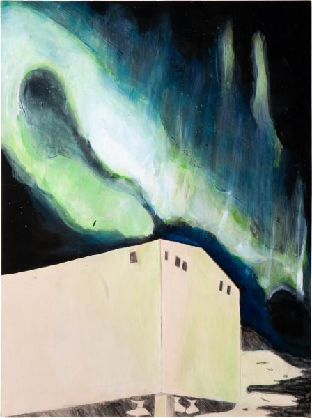 Hossein Ghaemi The effects that affect, 2009; gouache, pencil and watercolour on paper; 38 x 28 cm; enquire