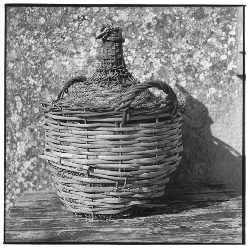 Bill Culbert Bonbonne - Basket, cane, double handle II, 2002; Edition of 25; enquire