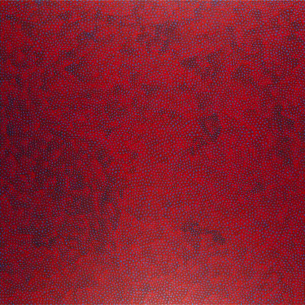 Yayoi Kusama INFINITY-NETS OOAXT, 2008; acrylic on canvas; 130.3 x 130.3 cm; enquire