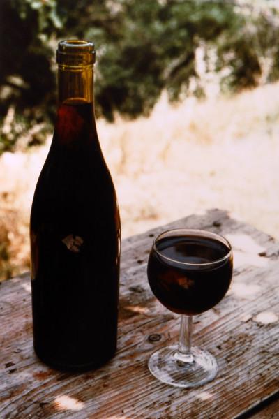 Bill Culbert Verre plein bouteille pleine/glass full, bottle full, 1991; colour photograph; 31 x 27 cm; Edition of 20; enquire