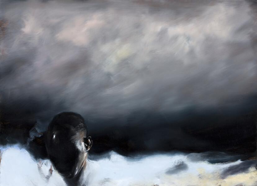 Louise Hearman Untitled #1338, 2011; Oil on masonite; 66.5 x 89 x 4.5 cm; enquire