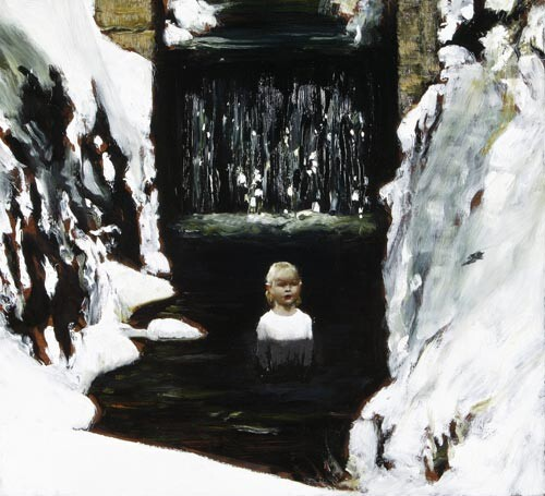 Louise Hearman Untitled #1106, 2004; oil on masonite; 53 x 58 cm; enquire