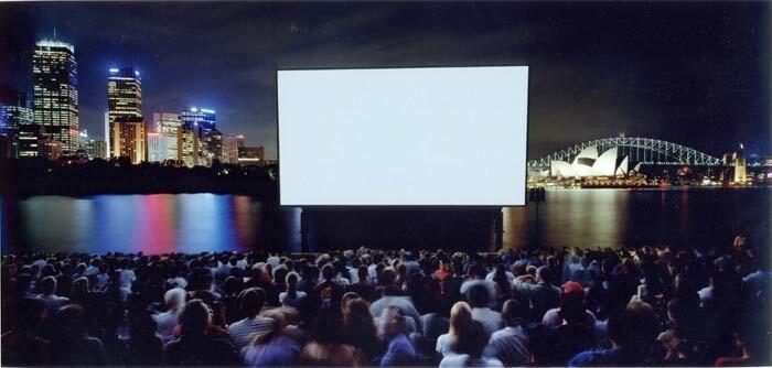 Anne Zahalka Open Air Cinema, 1999; type C photograph; 115 x 242 cm; Edition of 12; enquire
