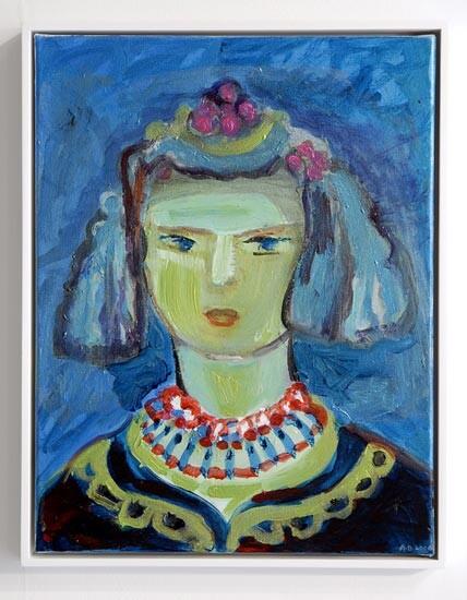 Angela Brennan Portrait of a young girl, 2006; acrylic on canvas; 46 x 35.5cm (unframed), 48 x 38cm (framed); enquire