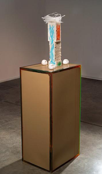 Hany Armanious Ikebana, 2013; cast pigmented polyurethane resin; 152 x 50 x 40 cm; Edition of 2 + AP 1; enquire