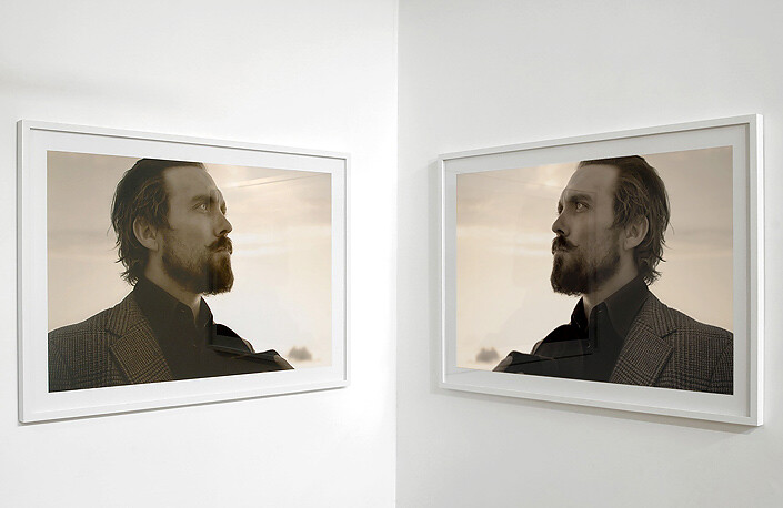 TV Moore W.J Wills (left and right), 2006; Lambda print; 80 x 120cm (image) 99 x 138cm (framed) each; Edition of 6 + AP 2; enquire