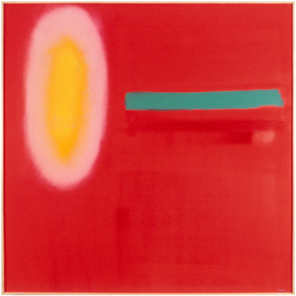 Dale Frank Lockeryer Waters, 1998; acrylic and enamel on linen; 200 x 200 cm; enquire