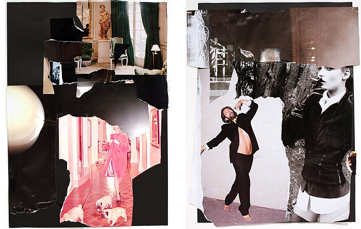 Jacqueline Fraser The Making of Igby Goes Down, 2011, 2011; collage; enquire