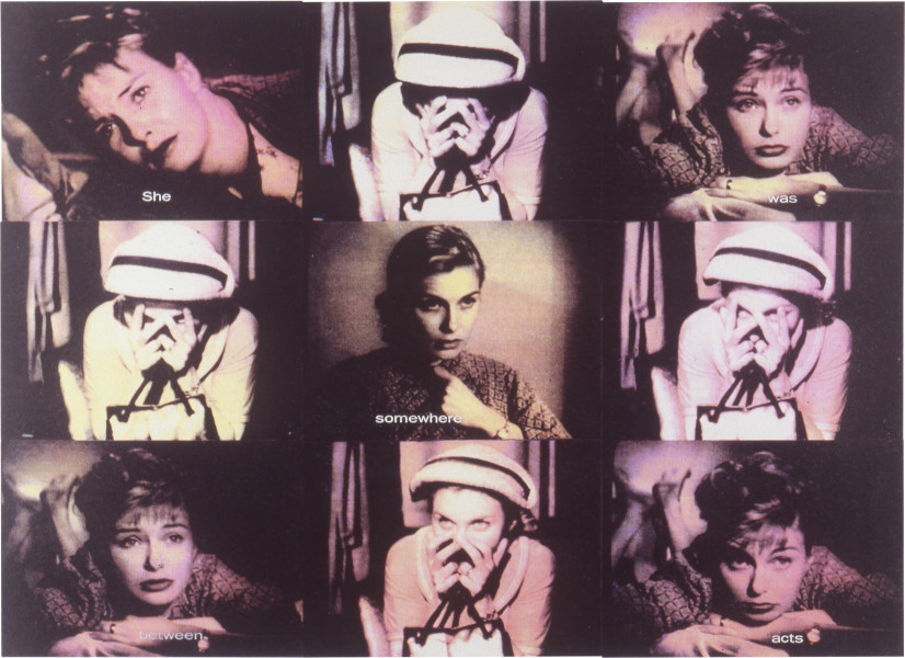 Lisa Zanderigo and Kaye Shumack The Handbag, 1994; type C photographic prints; 112 x 140 cm; enquire