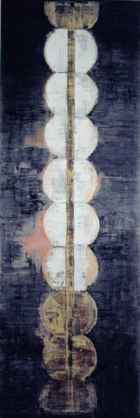 John Firth-Smith Fate, 2001; Oil on linen; 12 ft x 4 ft; enquire