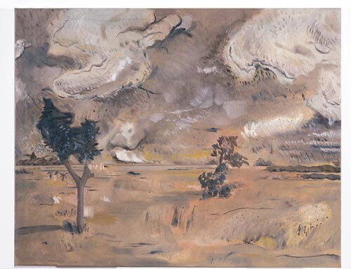 Linda Marrinon View at Euroa, 1996; Oil on canvas; 77 x 61 cm; enquire