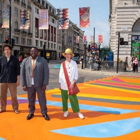 Isaac Julien – Piccadilly Art Takeover