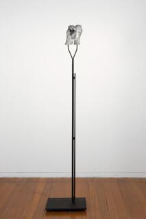 Julie Rrap Instrument: Spying, 2015; cast aluminium and steel; 162 x 35 x 25 cm; Edition of 5 + AP 1; enquire