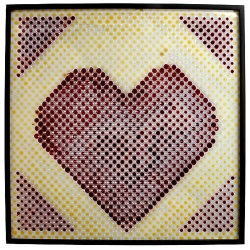Julie Rrap Porous Body 11, 1999; cibachrome photograph; 122.5 x 122.5 cm; enquire