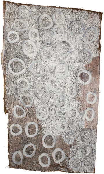 Nyapanyapa Yunupingu Circles, 2016; 4908Z; 135 x 77 cm; enquire