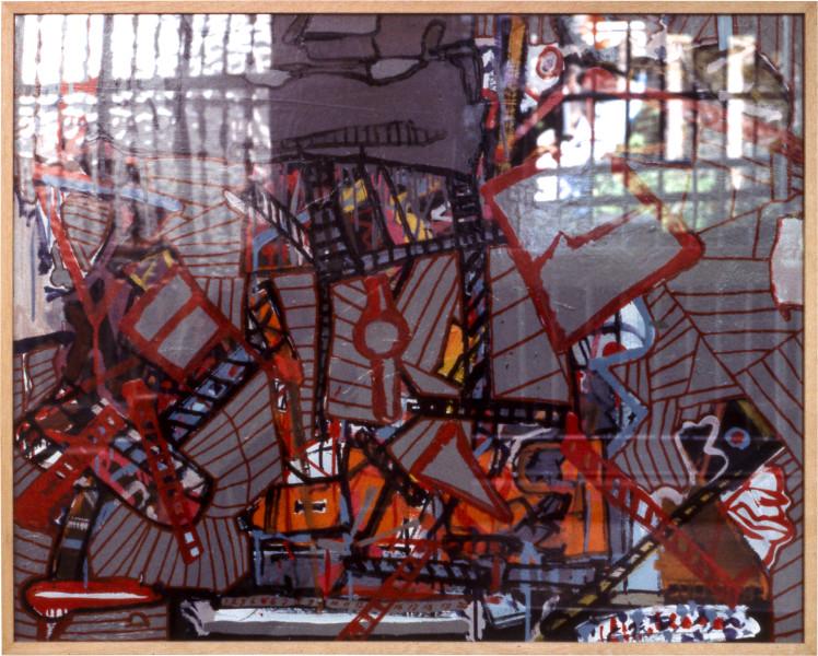 Gareth Sansom Grey one through to twenty, 1979; mixed media on cardboard; 82 x 102 cm; enquire
