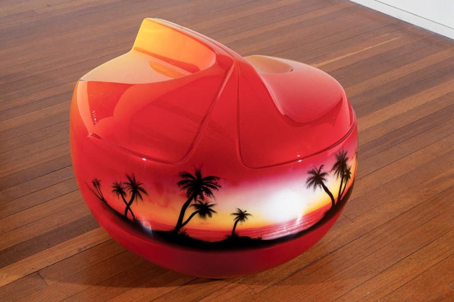 Patricia Piccinini Tequila Sunrise, 2002; fiberglass and automotive paint; 55 x 88 x 72 cm; Edition of 4; enquire