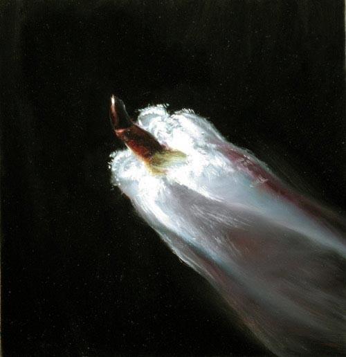 Louise Hearman Untitled #1104, 2005; oil on masonite; 41 x 31 cm; enquire