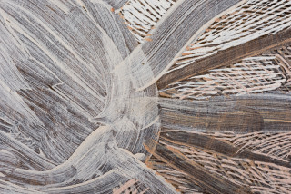 Nyapanyapa Yunupingu Ganyu Djulpan (detail), 2019; 6545-19; natural earth pigments on board; 240 x 240 cm; enquire