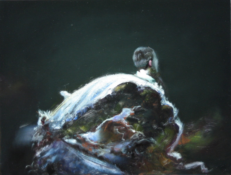 Louise Hearman Untitled #1090, 2005; oil on masonite; 47 x 61 cm; enquire