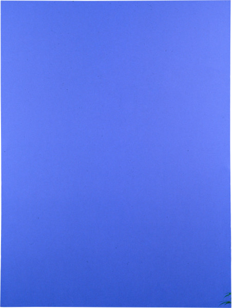 Dale Frank Why, 1996; Dale Blue, unavailable colour, produced in liaison with the chemical industry. Resultant Tone — BUN FRANK BLU C/FT 368/MS 28/XT 140 (1 lt.) /CAD.NIT.SUL. Creates imbalance in the inner ear and is attractive to certain insect varieties as a mating field.; 260 x 200 cm; enquire