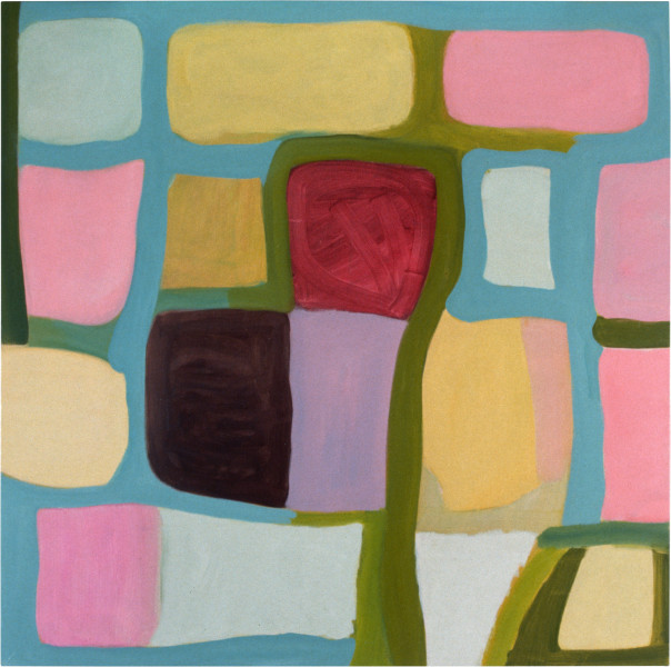 Angela Brennan Untitled (Edelweiss, Buangor), 1997; oil on canvas; 137.5 x 137.5 cm; enquire