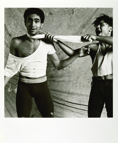 Tracey Moffatt Some Lads # 4, 1986; photograph; 95 x 84 cm; (framed); Edition of 30 + AP 10; Enquire