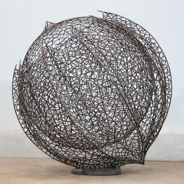 Bronwyn Oliver Votive, 2006; copper and bronze; 98 x 98 x 98 cm; enquire