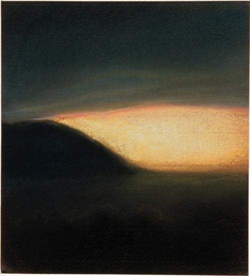 Louise Hearman Untitled #601, 1997; pastel on paper; 25 x 23 cm; enquire