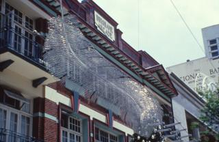 Bronwyn Oliver Big Feathers, 1999; Aluminium; 500 x 100 x 20 cm; enquire
