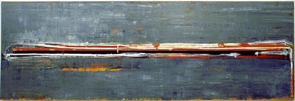 John Firth-Smith Waterslide, 2001; Oil on linen; 4 ft x 12 ft; enquire
