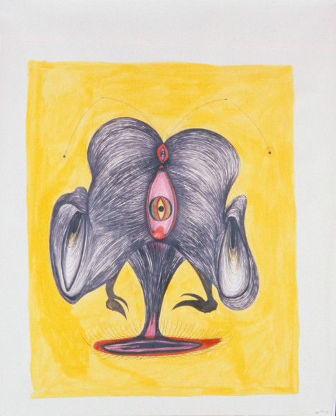Dale Frank Untitled, 1997; pencil and paper on paper; enquire