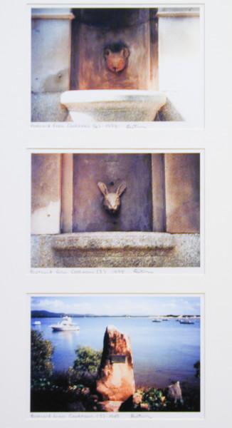 Destiny Deacon Postcard from Cooktown 4, 5 & 3, 1998; 3 colour laser prints; 21 x 29.7 cm; Edition of 15; enquire
