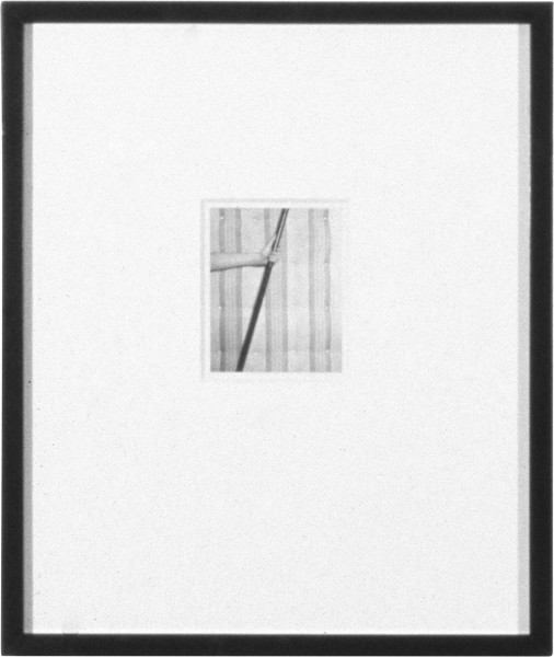 Robert Mapplethorpe Mattress, ; Polaroid; 13 x 10.5 cm; enquire