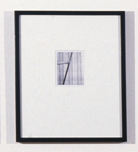 Robert Mapplethorpe Mattress, ; Polaroid; 13 x 10.5 cm; enquire