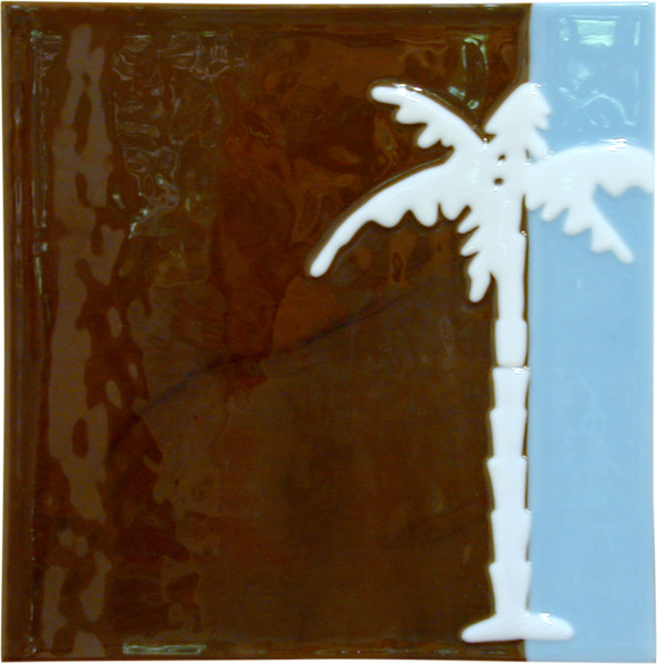 Kathy Temin Abstract Moment, 13, 2002; fused glass; 31 x 31 cm; enquire
