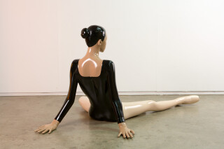Michael Parekowhai Song of the Frog, 2006; fibreglass and two pot paint; 180 x 70 x 70 cm; Edition of 3; enquire
