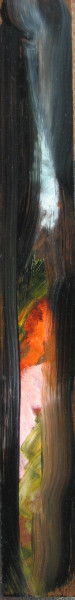 Louise Hearman Untitled #1178, 2005; oil on masonite; 5 x 36 cm; enquire