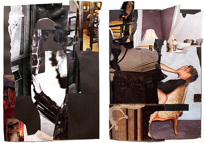 Jacqueline Fraser The Making of Body of Evidence, 2011, 2011; collage; enquire
