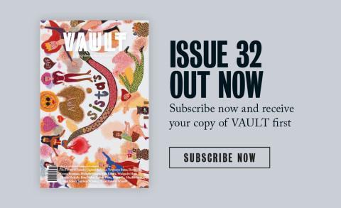 Kaylene Whiskey in Vault Magazine